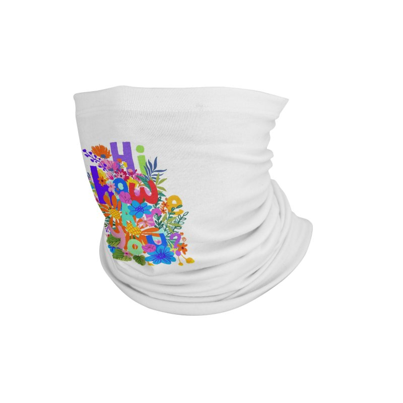 Hi how are you ? Accessories Neck Gaiter by kooky love's Artist Shop