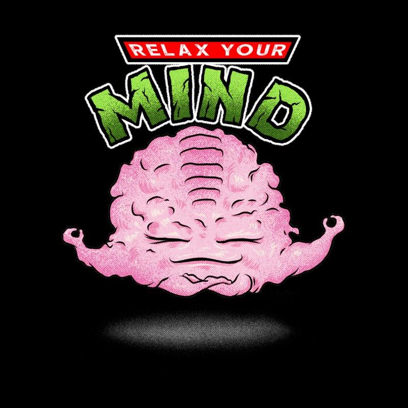 Relax Your Mind Men's Longsleeve T-Shirt by kooky love's Artist Shop