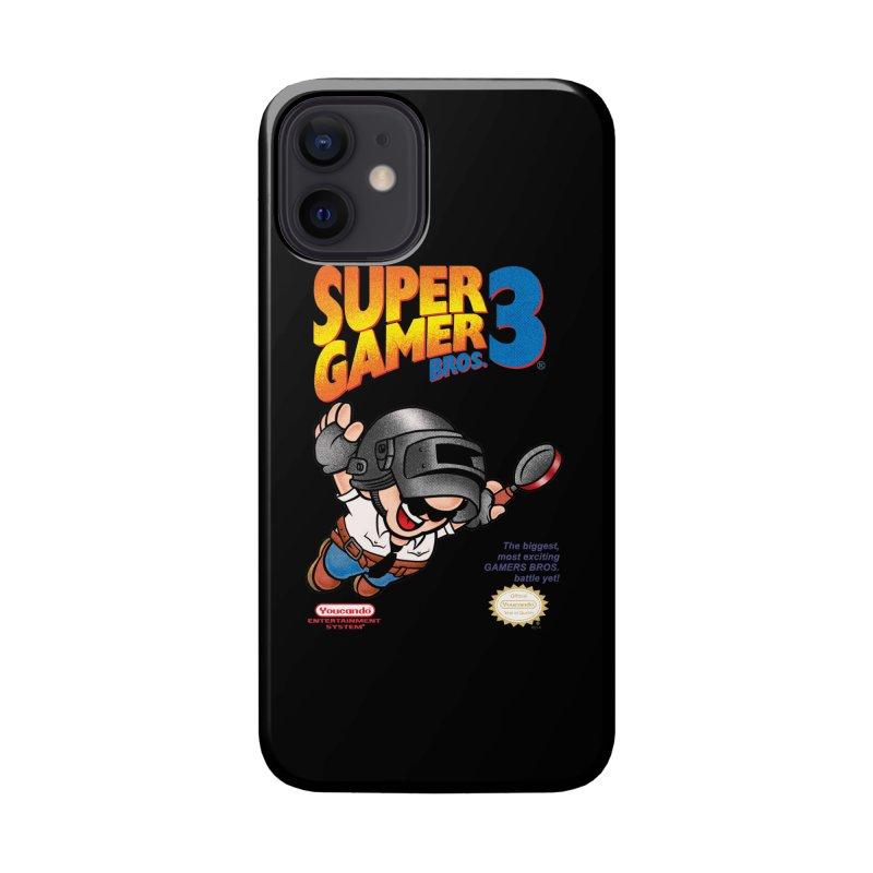 SUPER GAMER BROS Accessories Phone Case by kooky love's Artist Shop