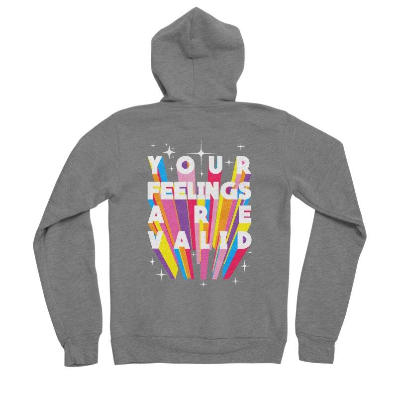 Your feelings are valid Women's Zip-Up Hoody by kooky love's Artist Shop