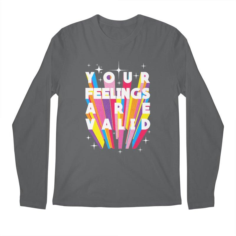 Your feelings are valid Men's Longsleeve T-Shirt by kooky love's Artist Shop