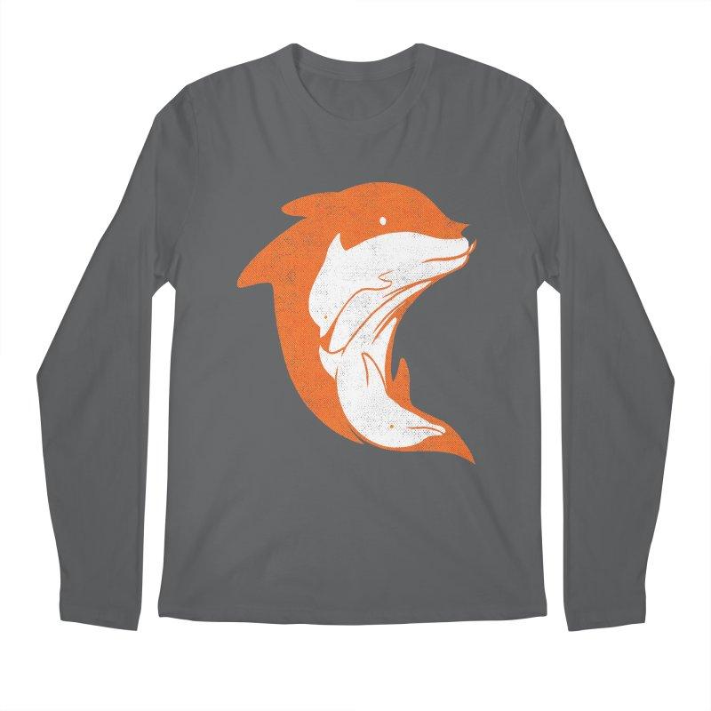 FOXPHIN Men's Longsleeve T-Shirt by kooky love's Artist Shop