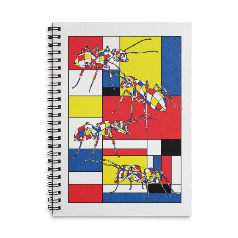 MONDRIANT Accessories Notebook by kooky love's Artist Shop