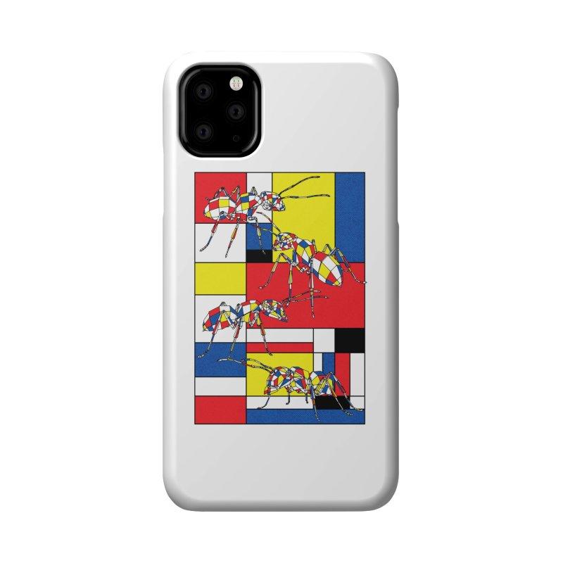 MONDRIANT Accessories Phone Case by kooky love's Artist Shop
