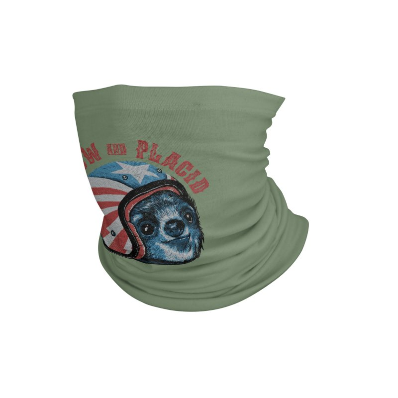 Slow and Placid Accessories Neck Gaiter by kooky love's Artist Shop