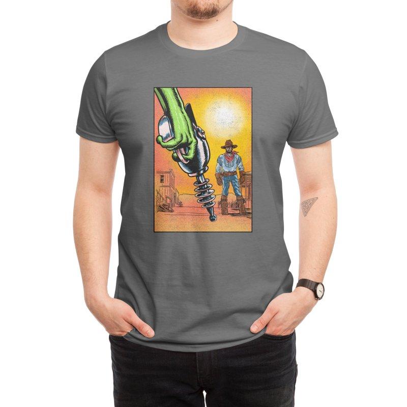 Intergalactic Showdown Men's T-Shirt by kooky love's Artist Shop