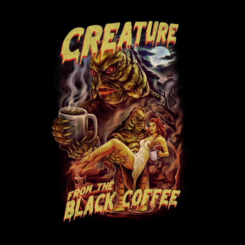 The Creature from the Black Coffee Women's T-Shirt by kooky love's Artist Shop