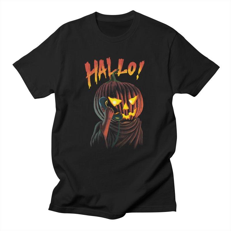 HALLO! Women's T-Shirt by kooky love's Artist Shop