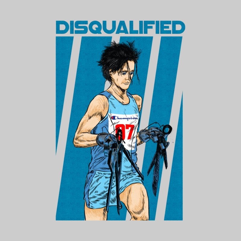DISQUALIFIED RUNNER Accessories Mug by kooky love's Artist Shop