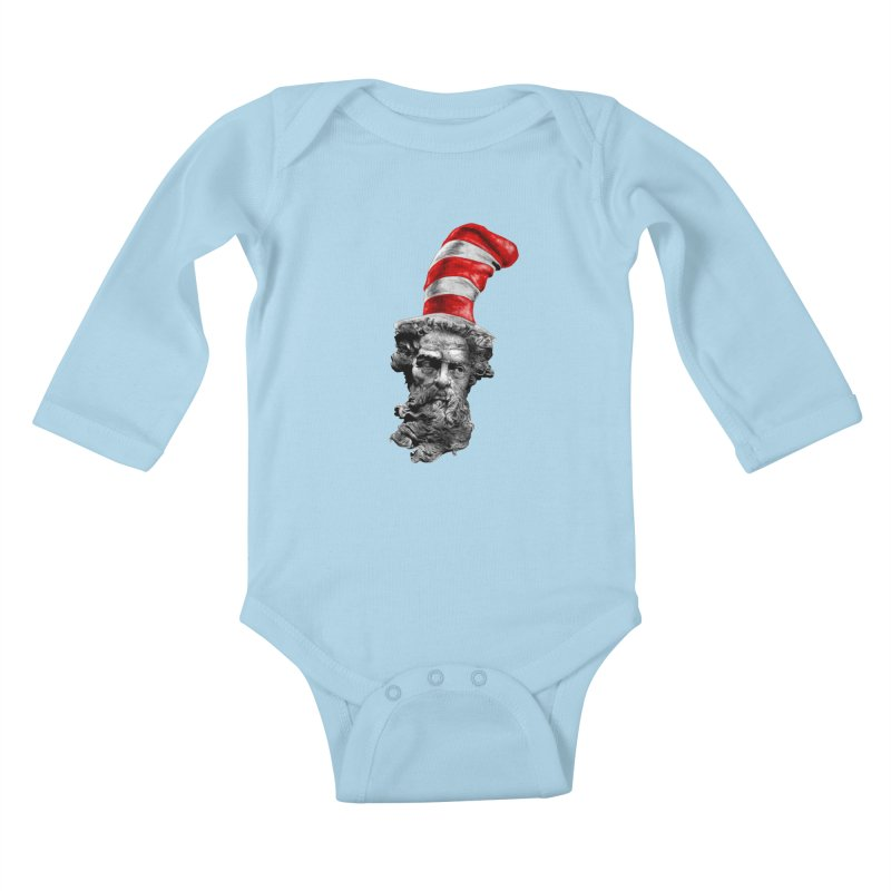 Dr. Zeuss Kids Baby Longsleeve Bodysuit by kooky love's Artist Shop