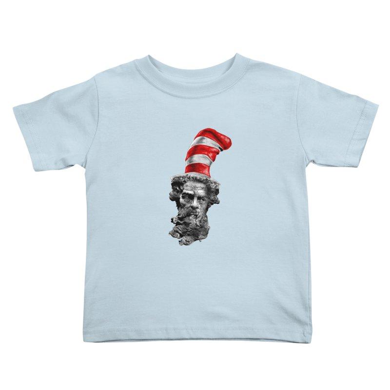 Dr. Zeuss Kids Toddler T-Shirt by kooky love's Artist Shop