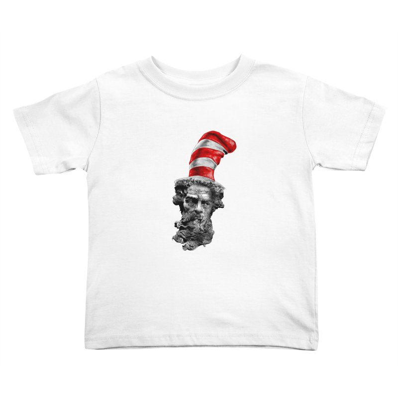 Dr. Zeuss Kids Toddler T-Shirt by kooky love's Artist Shop