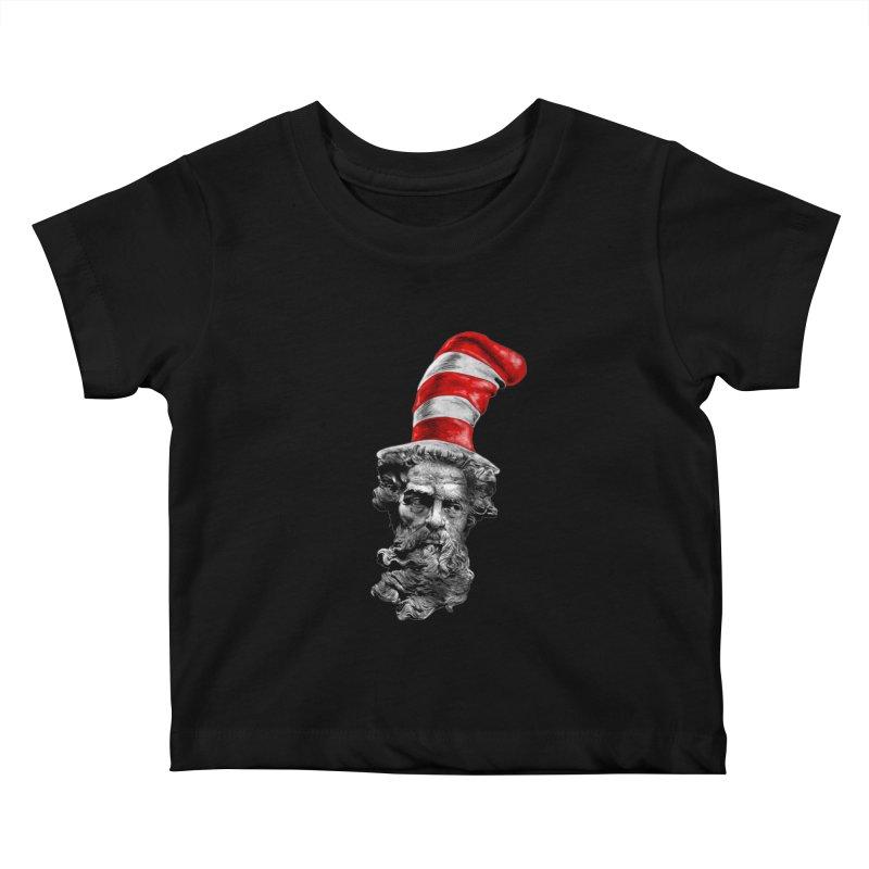 Dr. Zeuss Kids Baby T-Shirt by kooky love's Artist Shop