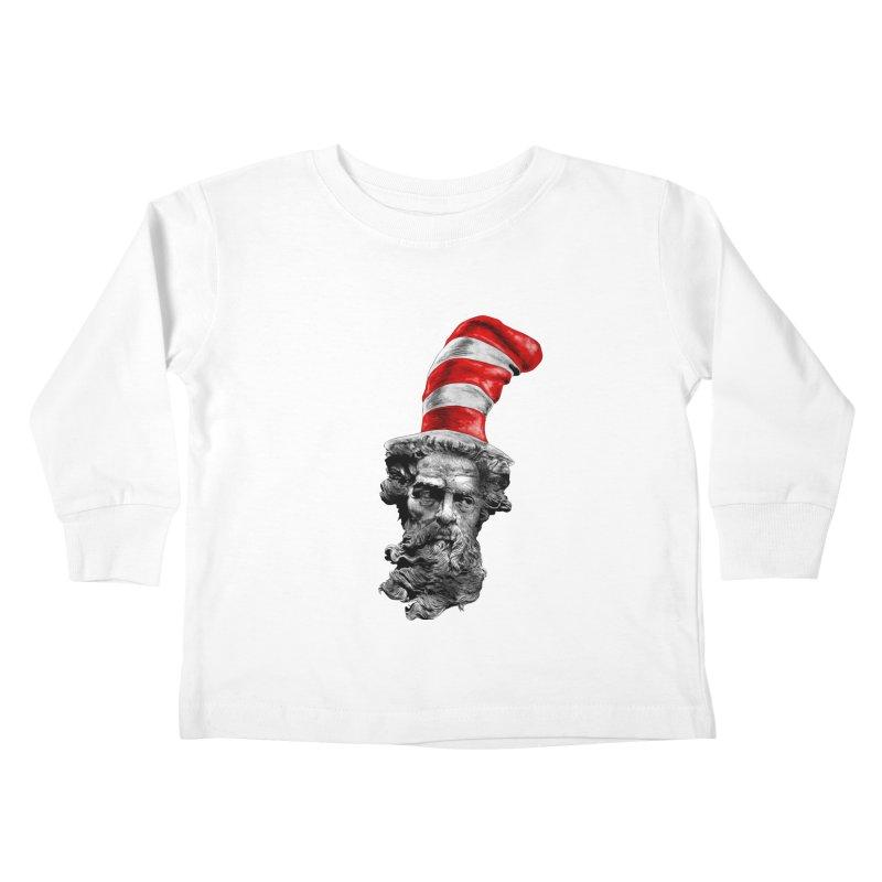 Dr. Zeuss Kids Toddler Longsleeve T-Shirt by kooky love's Artist Shop