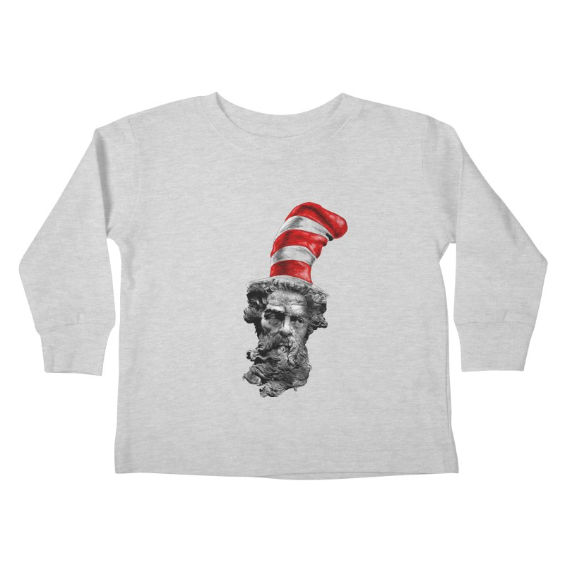 Dr. Zeuss Kids Toddler Longsleeve T-Shirt by kooky love's Artist Shop