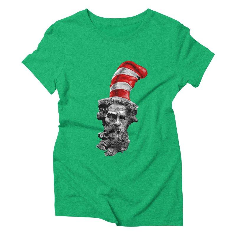 Dr. Zeuss Women's Triblend T-shirt by kooky love's Artist Shop