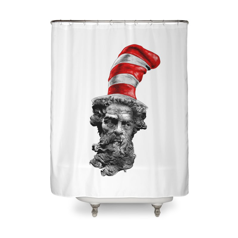 Dr. Zeuss Home Shower Curtain by kooky love's Artist Shop