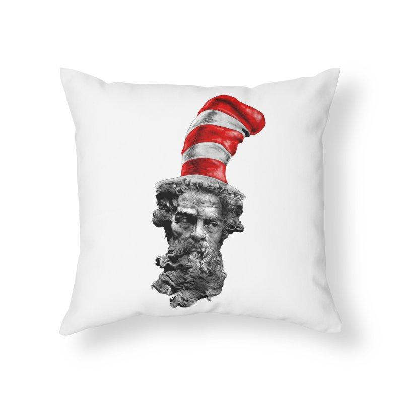 Dr. Zeuss Home Throw Pillow by kooky love's Artist Shop