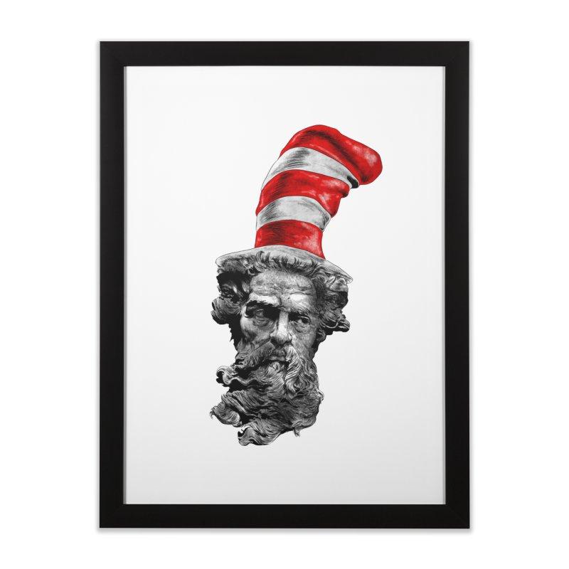Dr. Zeuss Home Framed Fine Art Print by kooky love's Artist Shop
