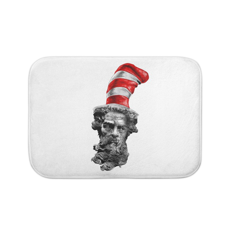 Dr. Zeuss Home Bath Mat by kooky love's Artist Shop