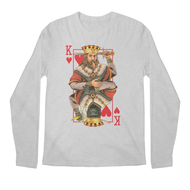 K  Men's Longsleeve T-Shirt by kooky love's Artist Shop