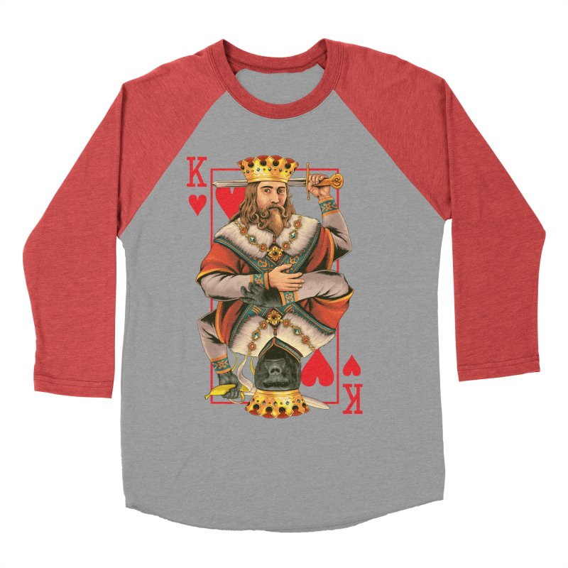 K  Women's Baseball Triblend T-Shirt by kooky love's Artist Shop
