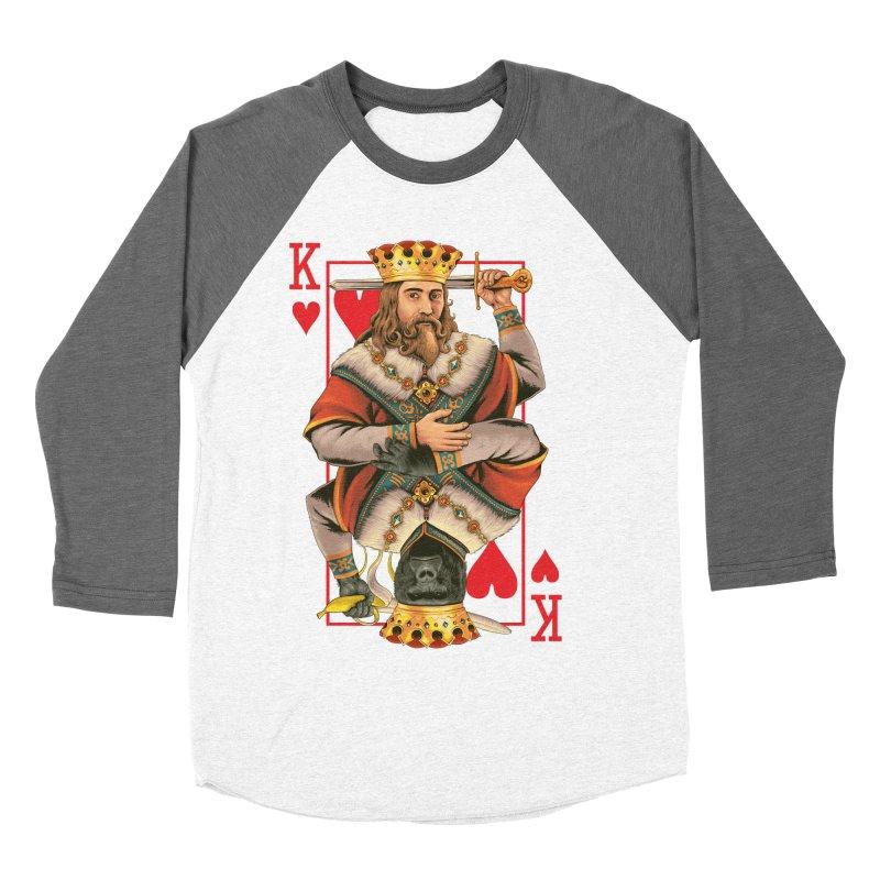 K  Men's Baseball Triblend T-Shirt by kooky love's Artist Shop