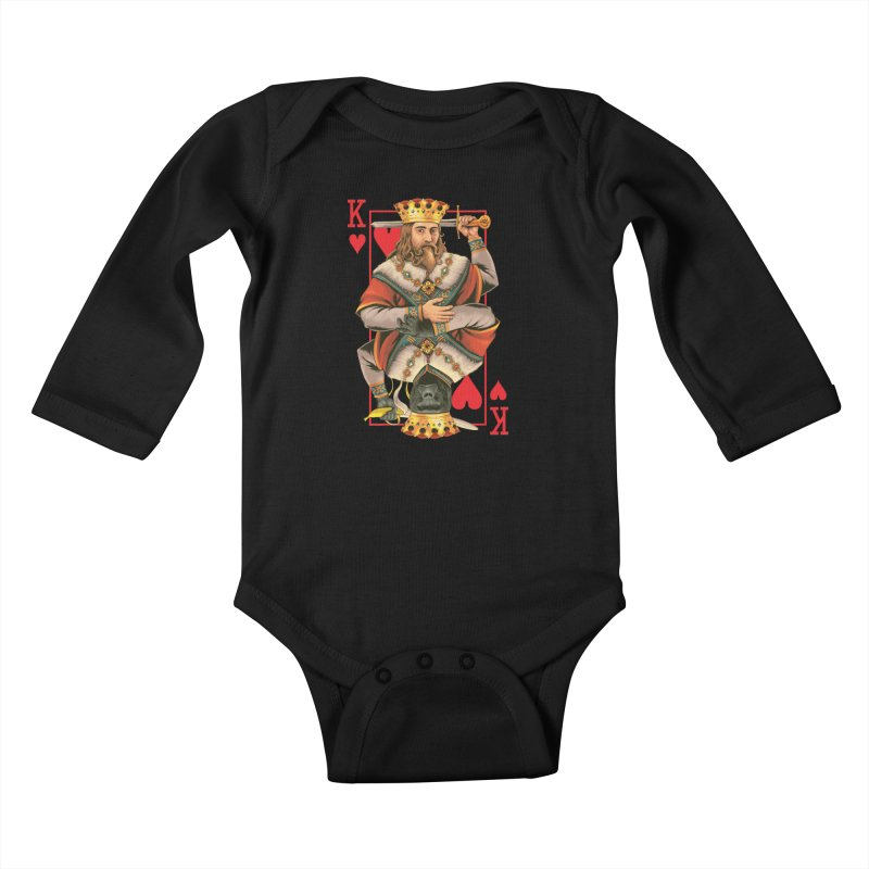 K  Kids Baby Longsleeve Bodysuit by kooky love's Artist Shop