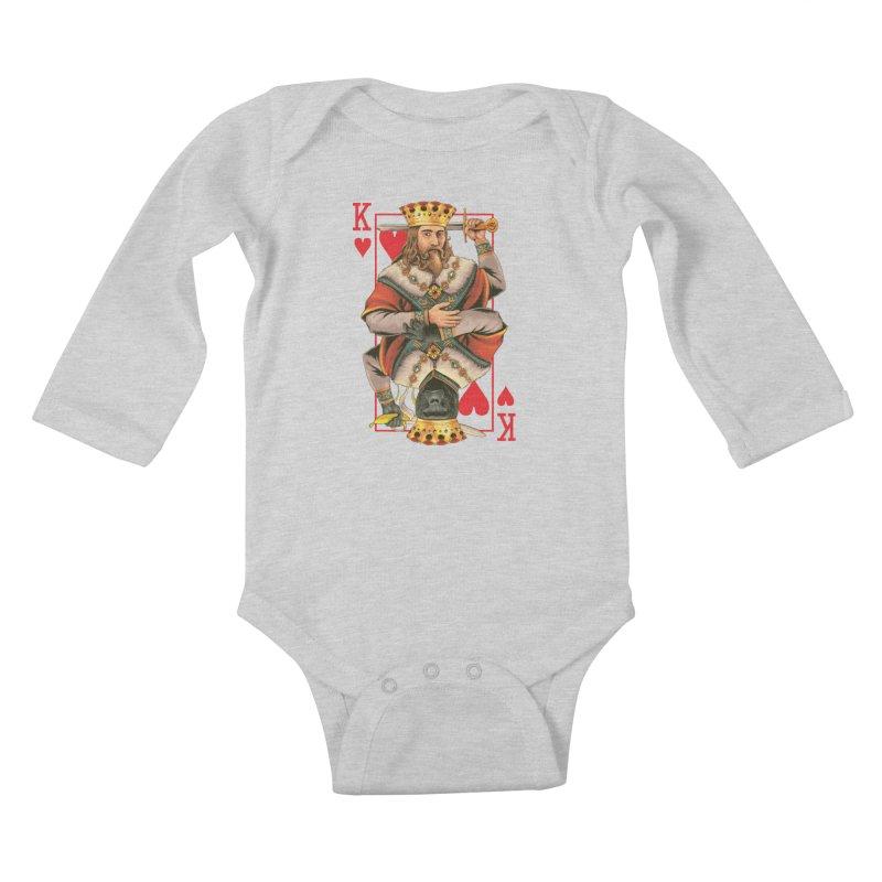 K  Kids Baby Longsleeve Bodysuit by kooky love's Artist Shop