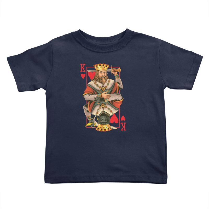 K  Kids Toddler T-Shirt by kooky love's Artist Shop