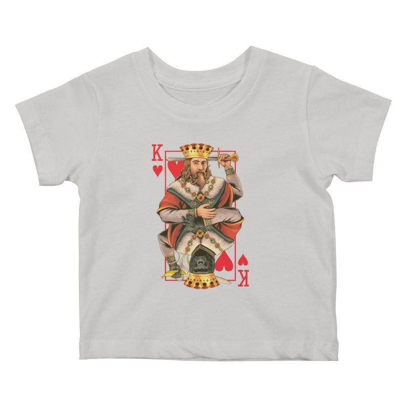 K  Kids Baby T-Shirt by kooky love's Artist Shop