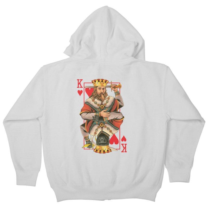 K  Kids Zip-Up Hoody by kooky love's Artist Shop