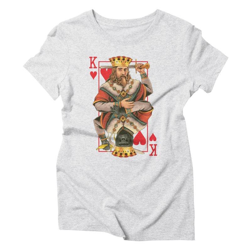 K  Women's Triblend T-shirt by kooky love's Artist Shop