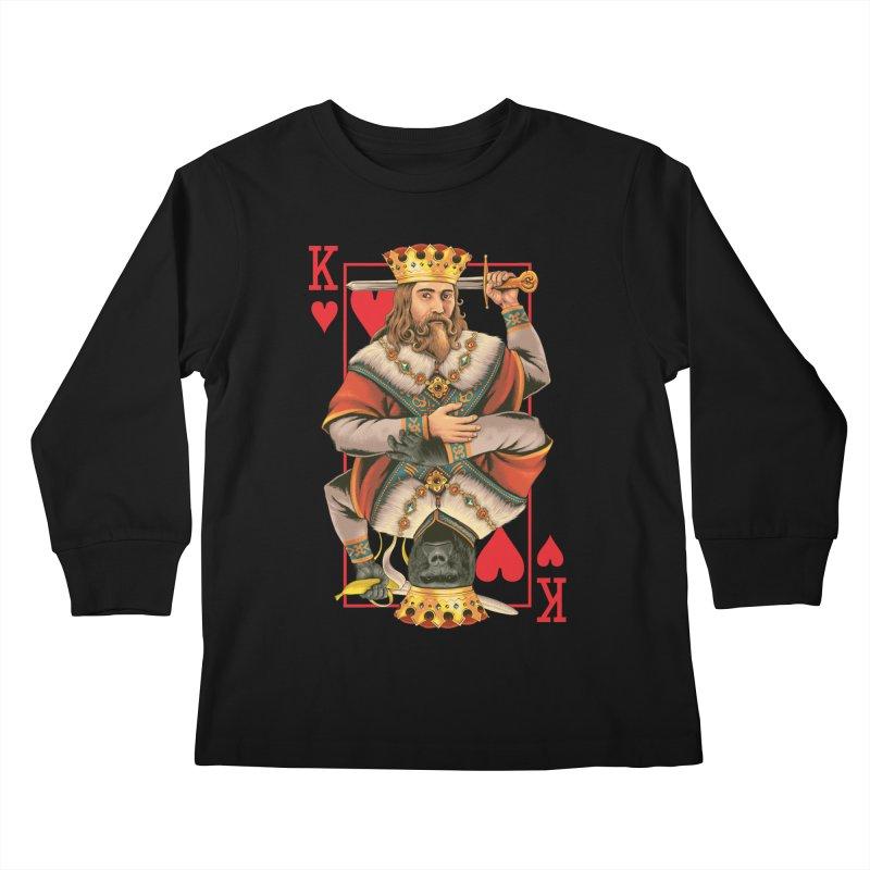 K  Kids Longsleeve T-Shirt by kooky love's Artist Shop