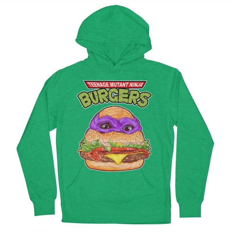 Ninja Burger Men's Pullover Hoody by kooky love's Artist Shop