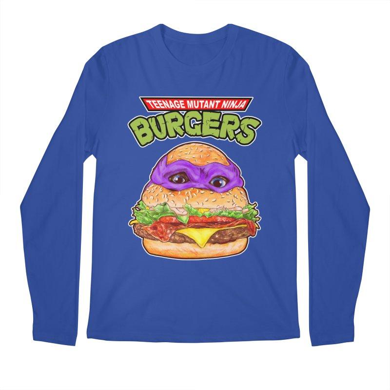 Ninja Burger Men's Longsleeve T-Shirt by kooky love's Artist Shop