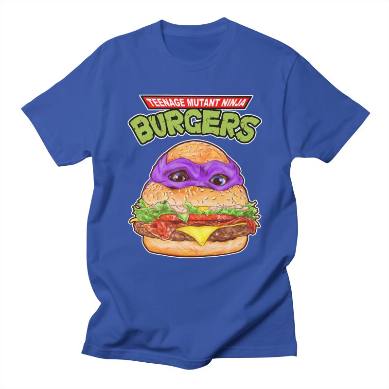 Ninja Burger Men's T-shirt by kooky love's Artist Shop