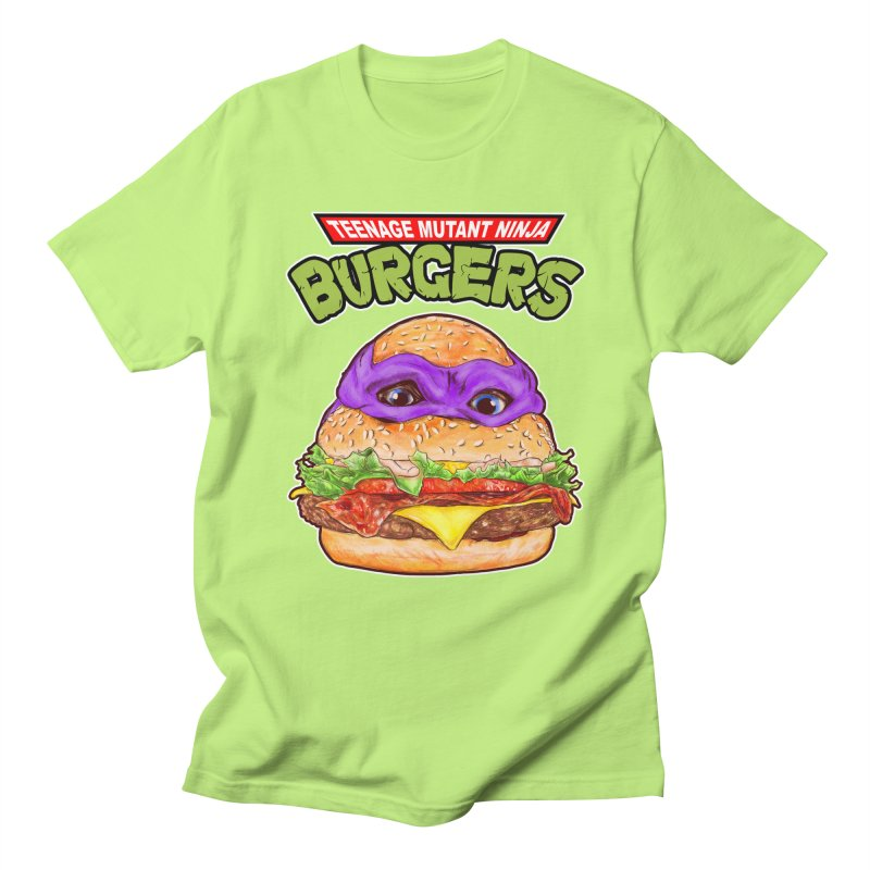 Ninja Burger Women's Unisex T-Shirt by kooky love's Artist Shop
