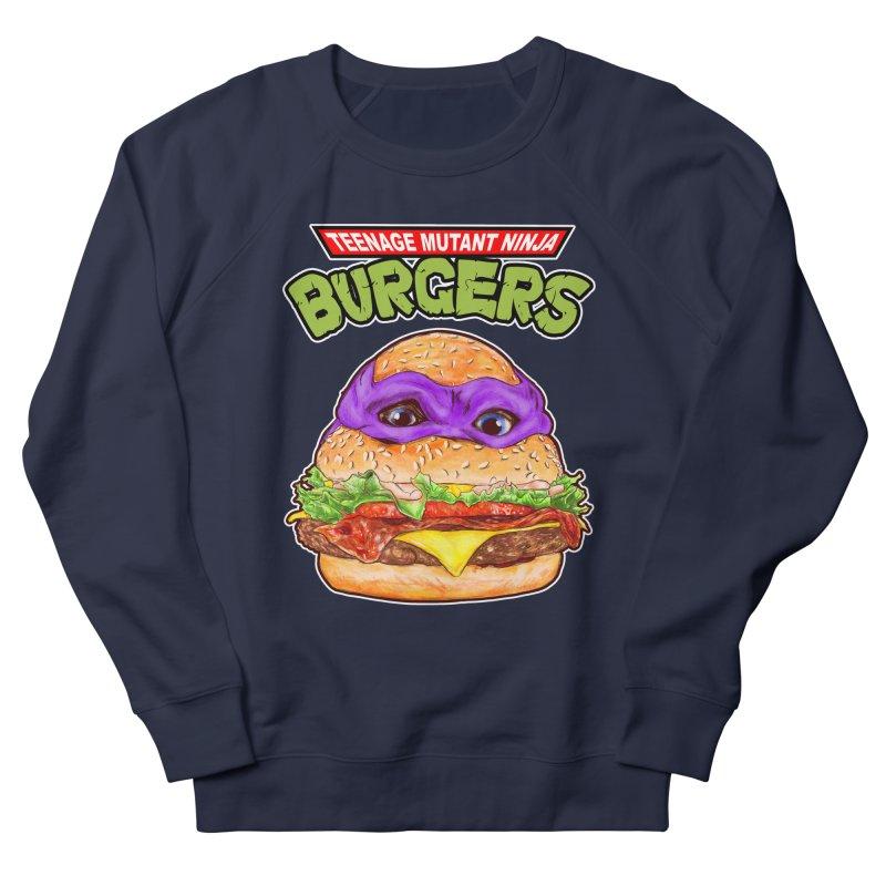 Ninja Burger Men's Sweatshirt by kooky love's Artist Shop