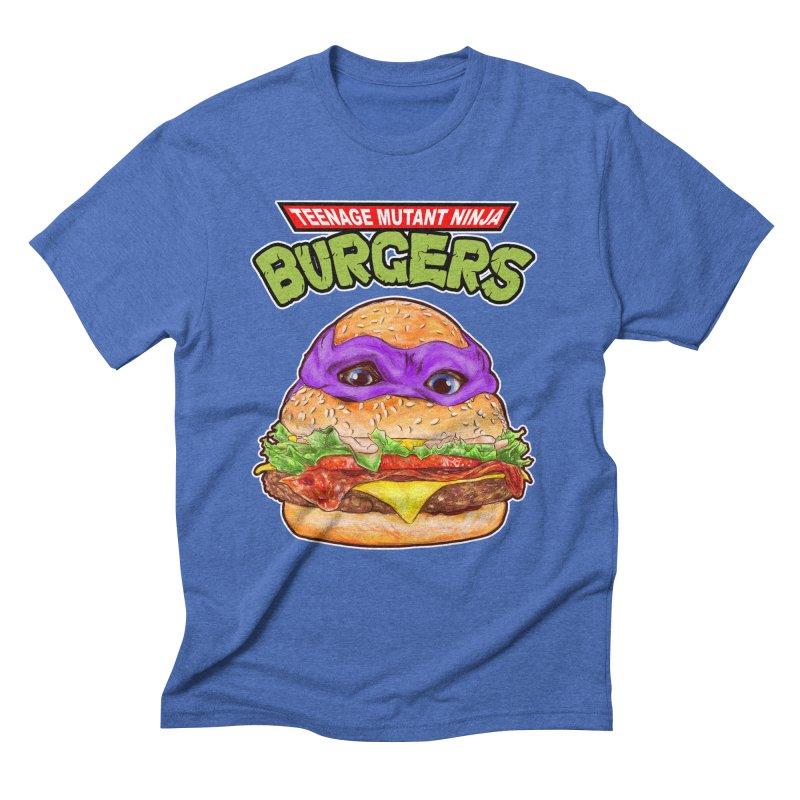 Ninja Burger Men's Triblend T-shirt by kooky love's Artist Shop