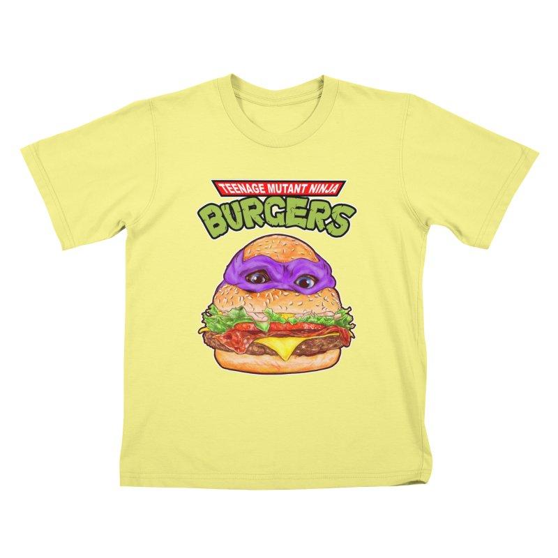 Ninja Burger Kids T-shirt by kooky love's Artist Shop