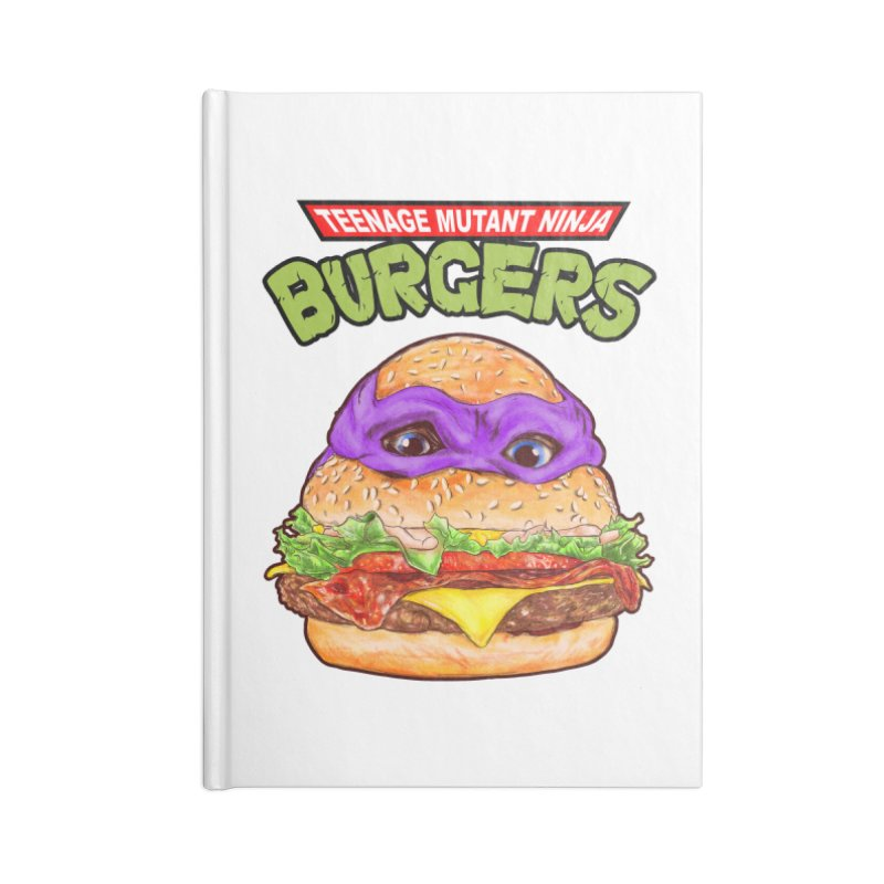 Ninja Burger Accessories Notebook by kooky love's Artist Shop