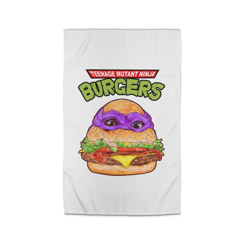 Ninja Burger Home Rug by kooky love's Artist Shop