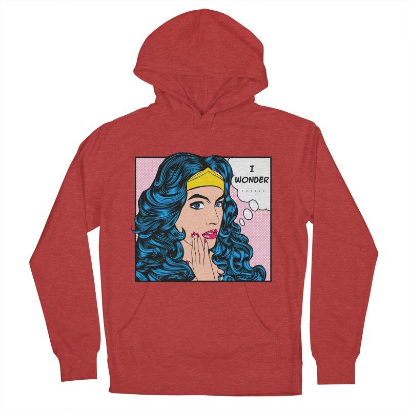 Wondering Woman Men's Pullover Hoody by kooky love's Artist Shop
