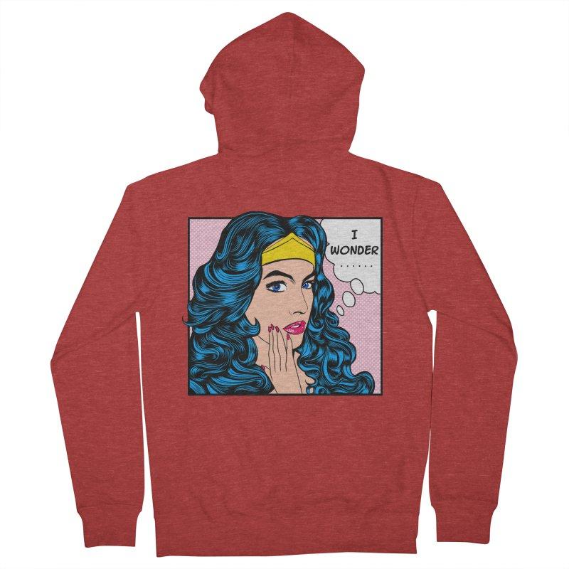 Wondering Woman Women's Zip-Up Hoody by kooky love's Artist Shop