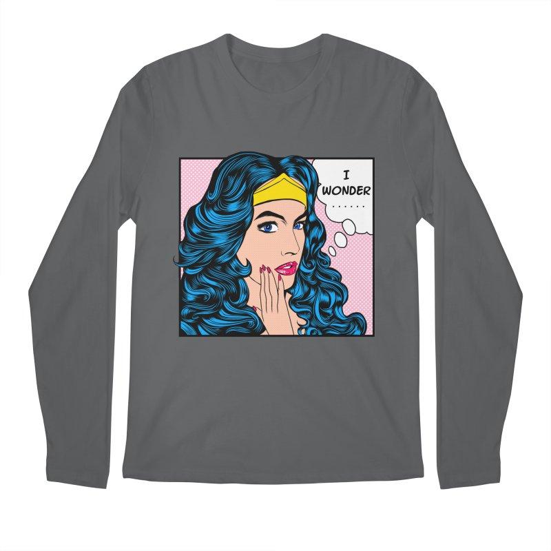 Wondering Woman Men's Longsleeve T-Shirt by kooky love's Artist Shop