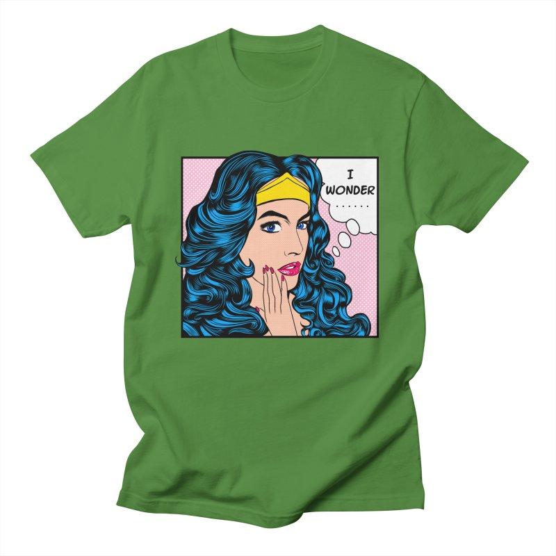 Wondering Woman Women's Unisex T-Shirt by kooky love's Artist Shop
