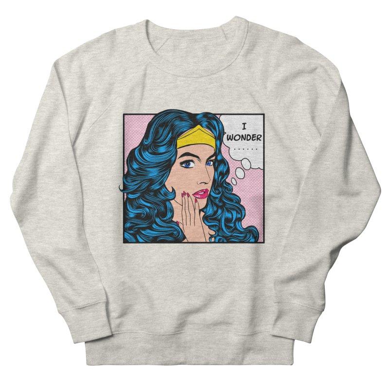 Wondering Woman Men's Sweatshirt by kooky love's Artist Shop
