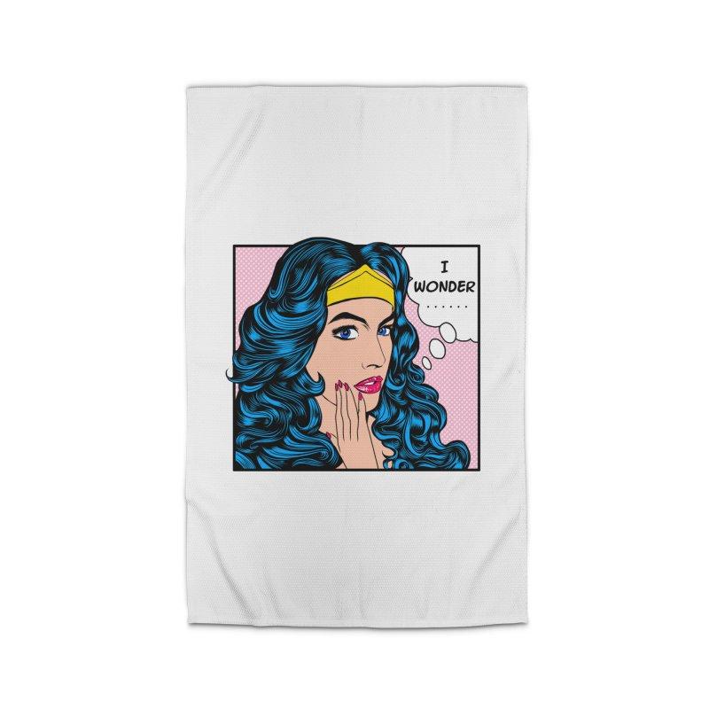 Wondering Woman Home Rug by kooky love's Artist Shop