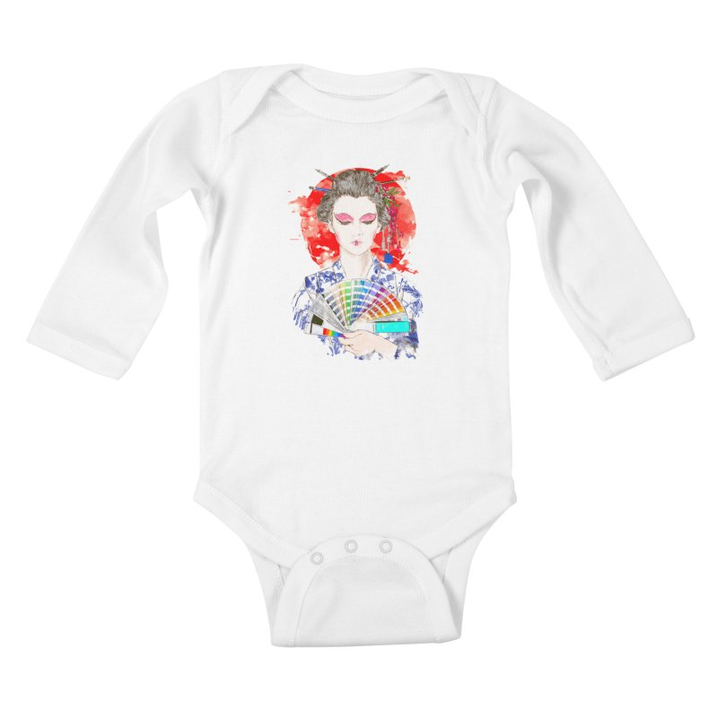 My Guide Kids Baby Longsleeve Bodysuit by kooky love's Artist Shop